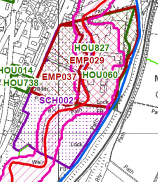 New Saddleworth School - Oldham Council's preferred option in canal hazard zone